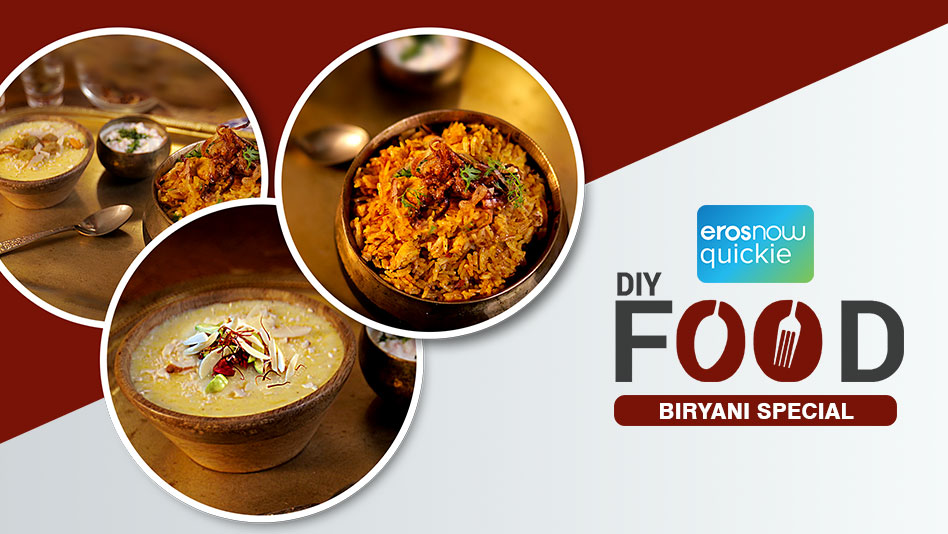 Watch DIY Food - Briyani Special on Eros Now