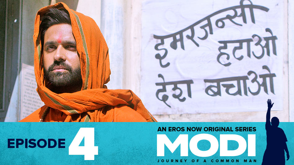 Watch Modi - Journey Of A Common Man - Episode 4: Hatth Nahin Sankalp on Eros Now