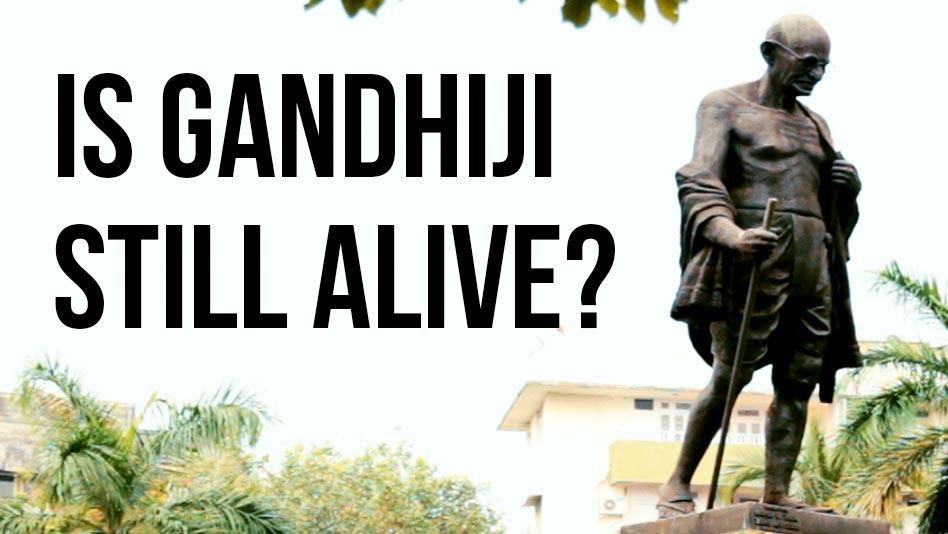 Watch Specials - Is Gandhiji Still Alive on Eros Now