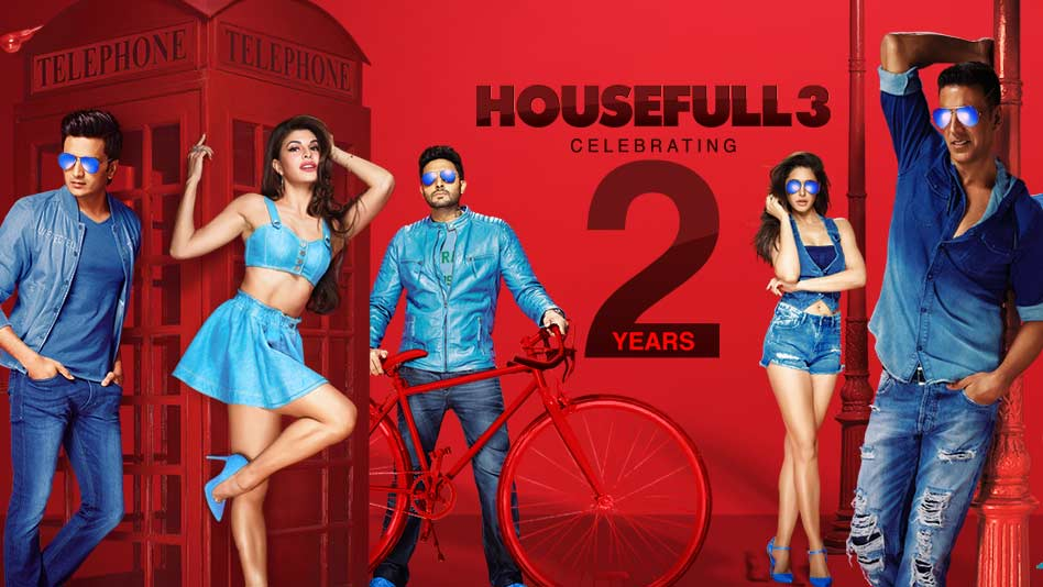 Watch Specials - Celebrating 2 Years Of Housefull 3 on Eros Now