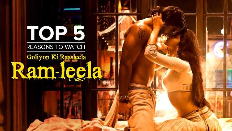 Watch Top 5 Reasons To Watch - Top 5 Reasons to Watch Ram-Leela on Eros Now