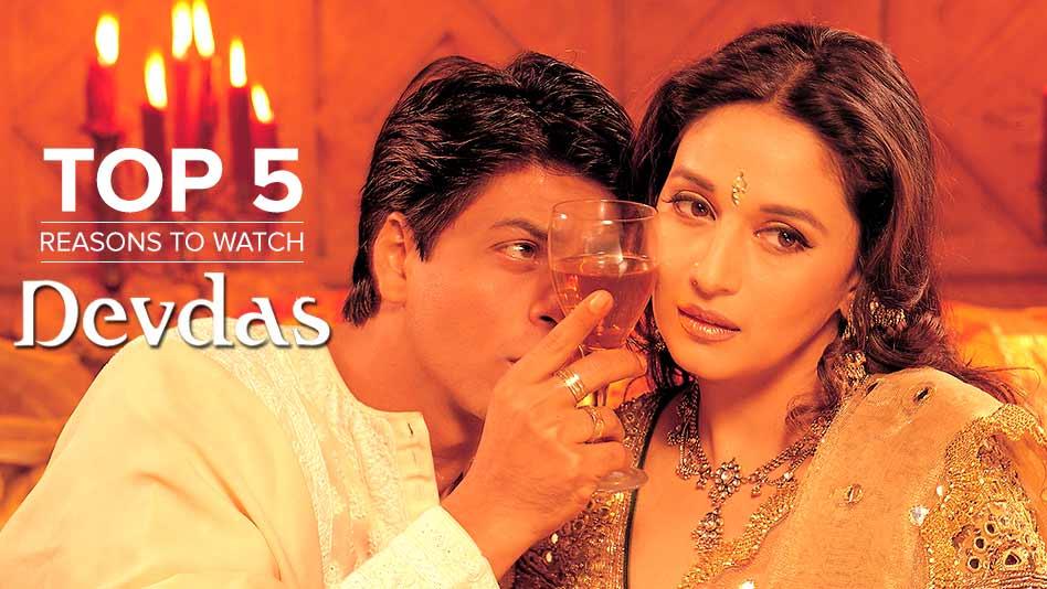 Watch Top 5 Reasons To Watch - Top 5 Reasons to Watch Devdas on Eros Now