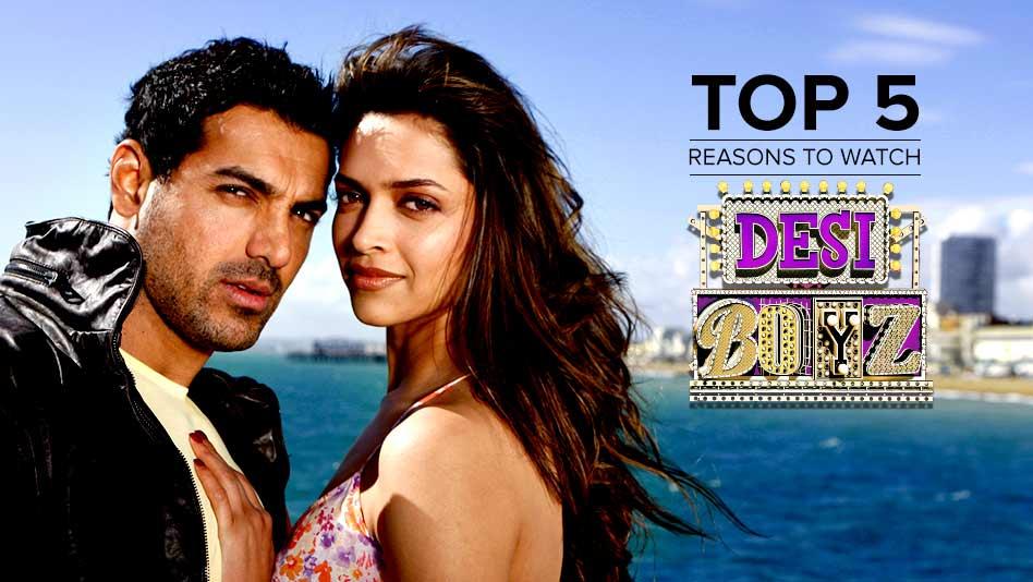 Watch Top 5 Reasons To Watch - Top 5 Reasons to Watch Desi Boyz on Eros Now