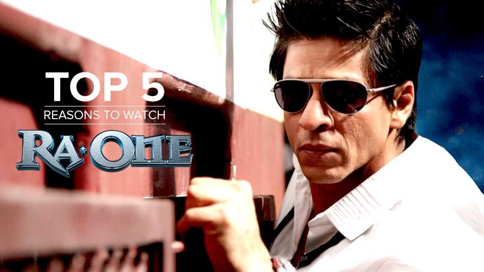 Watch Top 5 Reasons To Watch - Top 5 Reasons to Watch Ra.One on Eros Now