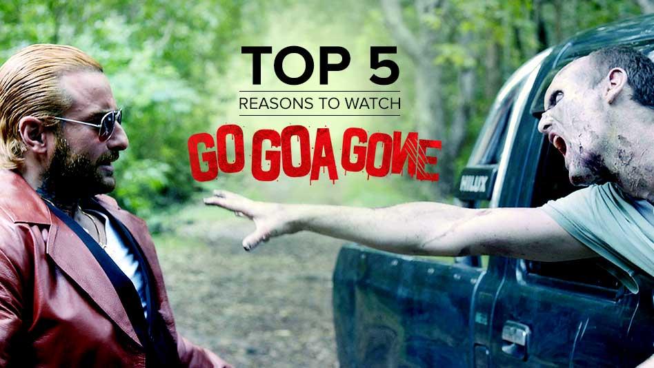 Watch Top 5 Reasons To Watch - Top 5 Reasons to Watch Go Goa Gone on Eros Now