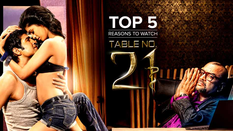 Watch Top 5 Reasons To Watch - Top 5 Reasons to Watch Table No. 21 on Eros Now