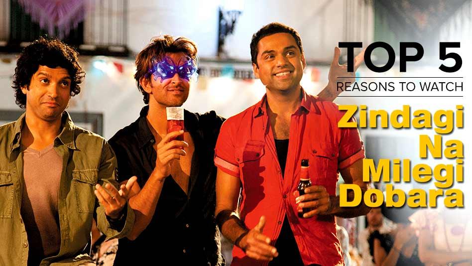 Watch Top 5 Reasons To Watch - Top 5 Reasons to Watch Zindagi Na Milegi Dobara on Eros Now