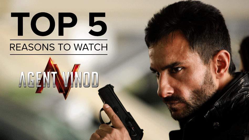 Watch Top 5 Reasons To Watch - Top 5 Reasons to Watch Agent Vinod on Eros Now