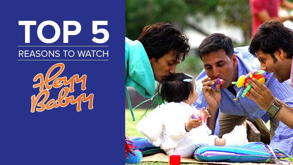 Watch Top 5 Reasons To Watch - Top 5 Reasons to Watch Heyy Babyy on Eros Now