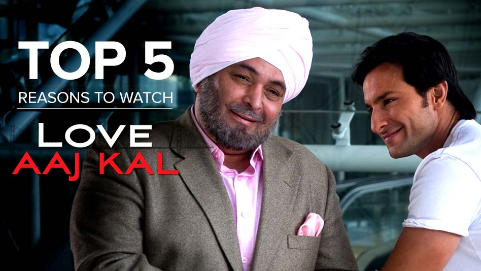 Watch Top 5 Reasons To Watch - Top 5 Reasons to Watch Love Aaj Kal on Eros Now