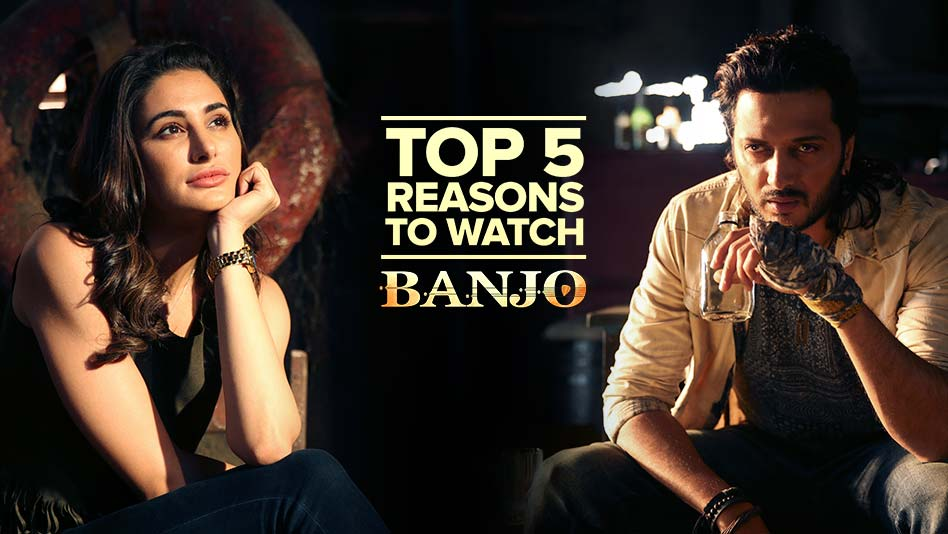 Watch Top 5 Reasons To Watch - Top 5 Reasons to Watch Banjo on Eros Now