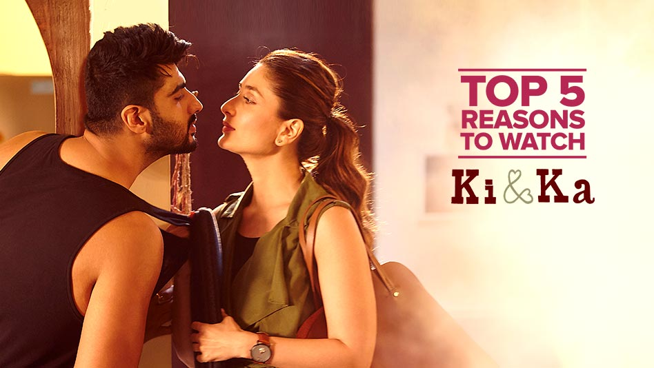 Watch Top 5 Reasons To Watch - Top 5 Reasons to Watch Ki & Ka on Eros Now