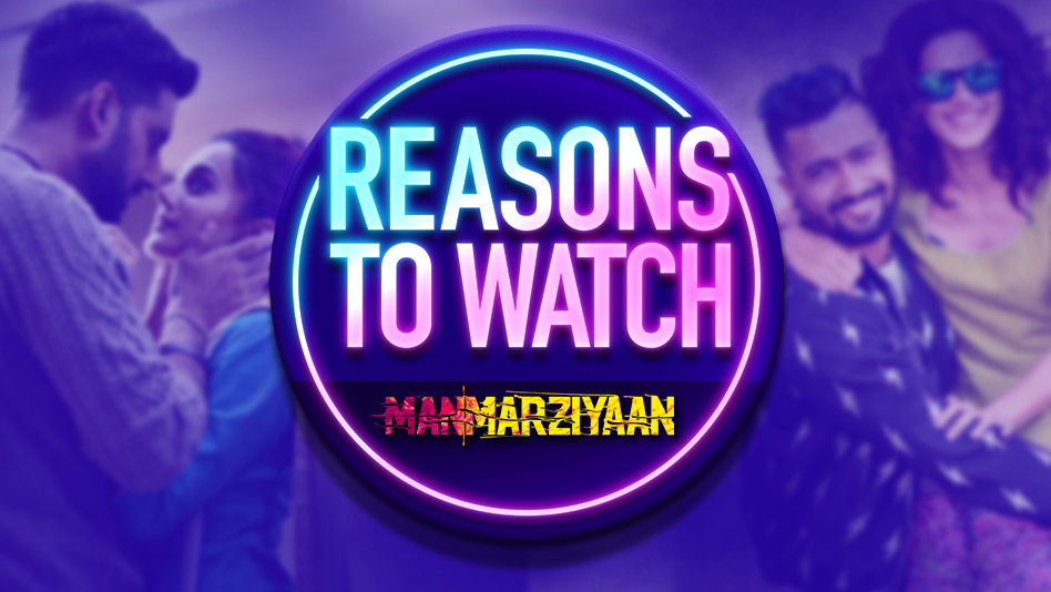 Watch Top 5 Reasons To Watch - Reasons to Watch - Manmariyaan on Eros Now