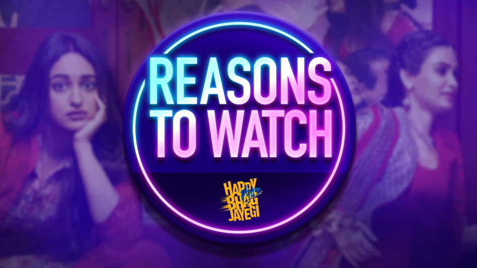 Watch Top 5 Reasons To Watch - Top 5 Reasons To Watch Happy Phirr Bhag Jayegi on Eros Now