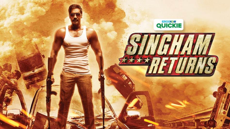 Watch Singham Returns - Singham Returns on Eros Now
