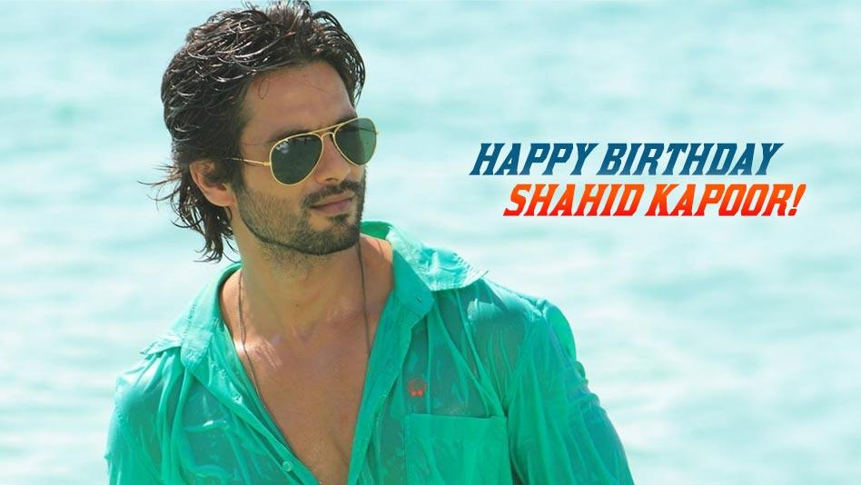 Watch Happy Birthday - Shahid Kapoor on Eros Now
