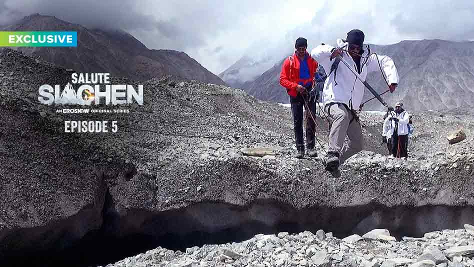 Watch Salute Siachen - Episode 5 on Eros Now
