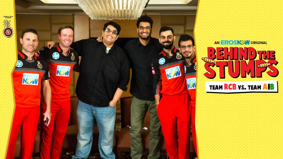 Watch RCB - Team RCB vs. Team AIB   Behind The Stumps! on Eros Now