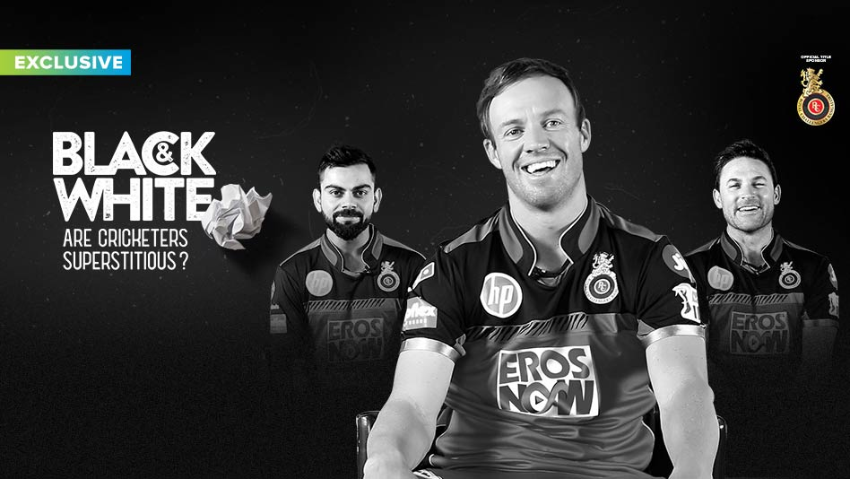 Watch RCB - Are cricketers superstitious? on Eros Now