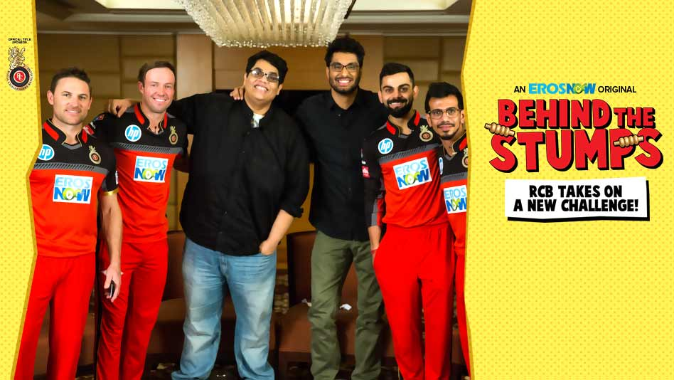 Watch RCB - RCB takes on a new challenge! on Eros Now