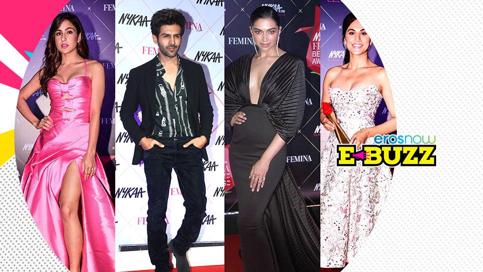 Kartik Aaryan, Deepika Padukone And Other Celebs Attend Beauty Awards