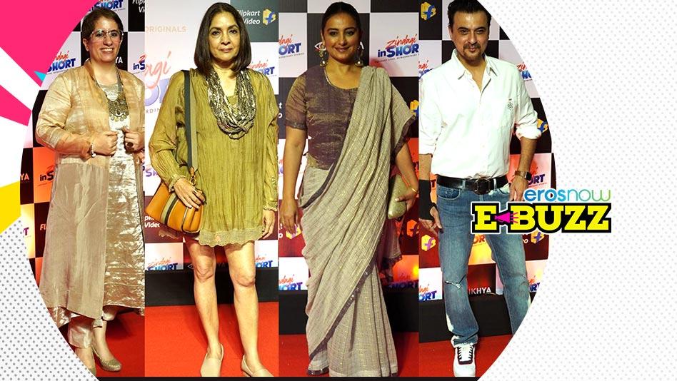 A star-studded premiere of Guneet Monga's series of short films