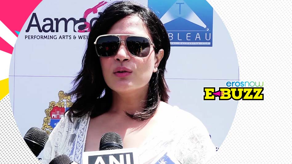 Watch E Buzz - Richa Chadha Celebrates Women's Day With Youngsters on Eros Now