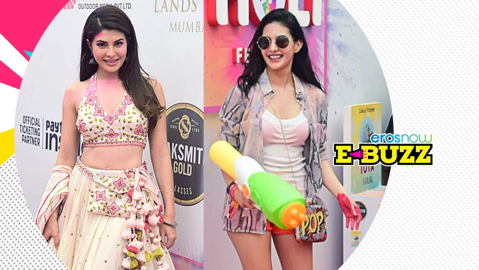 Watch E Buzz - B-town Celebs Celebrate The Festival Of Colours on Eros Now