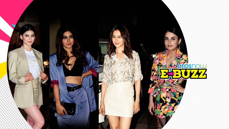 Watch E Buzz - B-Town Celebs Attend A Film Screening In Mumbai on Eros Now
