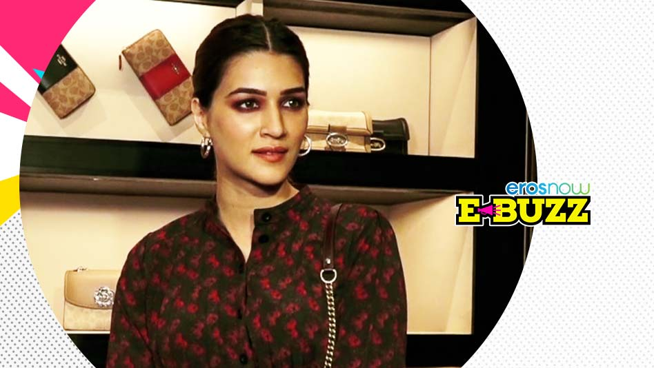 Watch E Buzz - Kriti Sanon Spotted At An Event In Mumbai on Eros Now