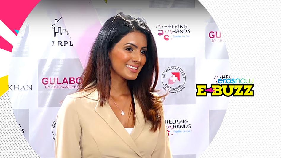 Geeta Basra At A Fundraising Event In Mumbai