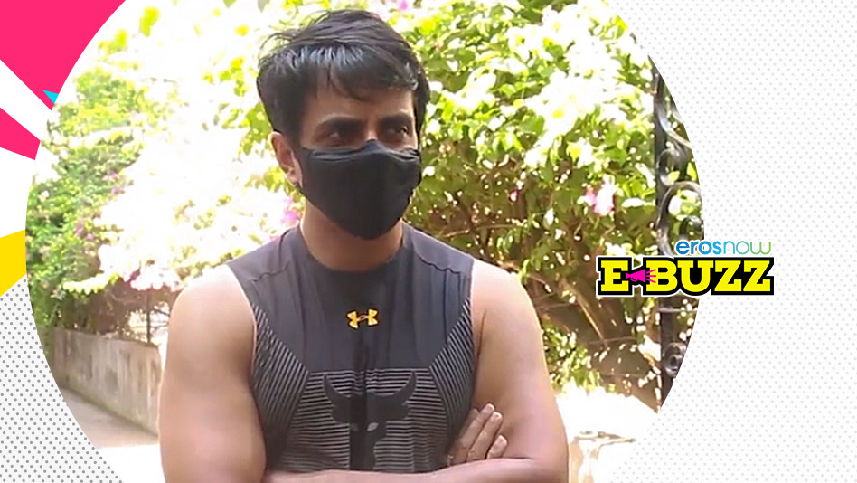 Watch E Buzz - Sonu Sood, the Messiah, Interacts With his Fans on Eros Now