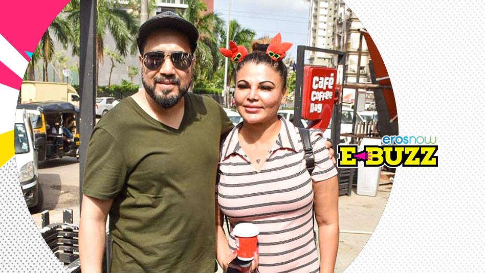 Watch E Buzz - Rakhi Sawant and Mika Singh Meet in Andheri, Mumbai on Eros Now