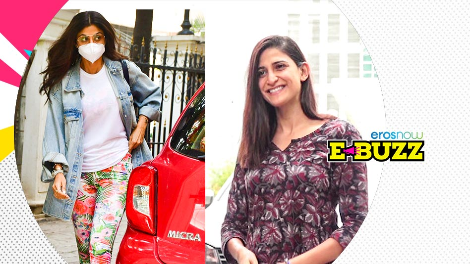 Watch E Buzz - Celebs Spotted in the City - June 2, 2021 on Eros Now
