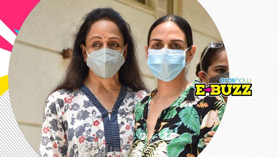 Watch E Buzz - Hema Malini and Rakhi Sawant Spotted in Mumbai on Eros Now
